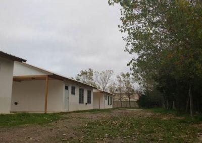 Vista patio Complejo Las Grutas Golfo Azul