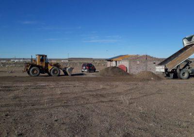 Vista de Terreno en construcción