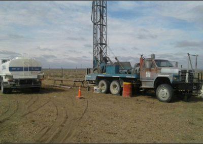 Vista de Terreno en construcción, Zapala.