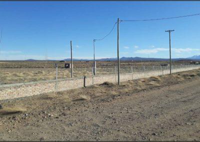 Vista de Terreno en construcción.