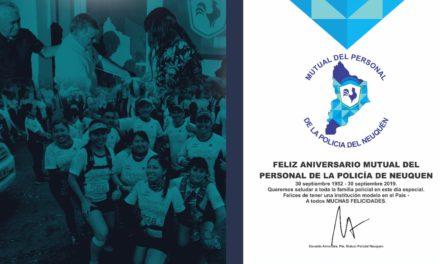 Aniversario Mutual del Personal de la Policía del Neuquén