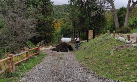 Obra de gas en complejo San Martin de los Andes