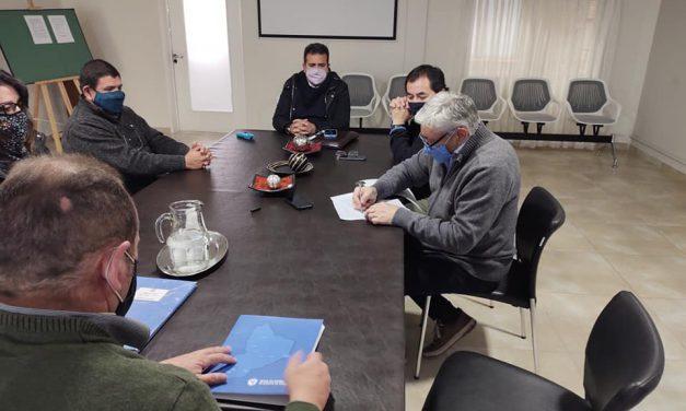 Firma convenio predio recreativo Nueva España